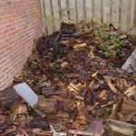 En nog een oude composthoop.