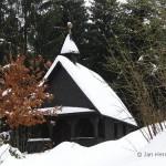 De Wendelin kapel ligt voor het hertenkamp